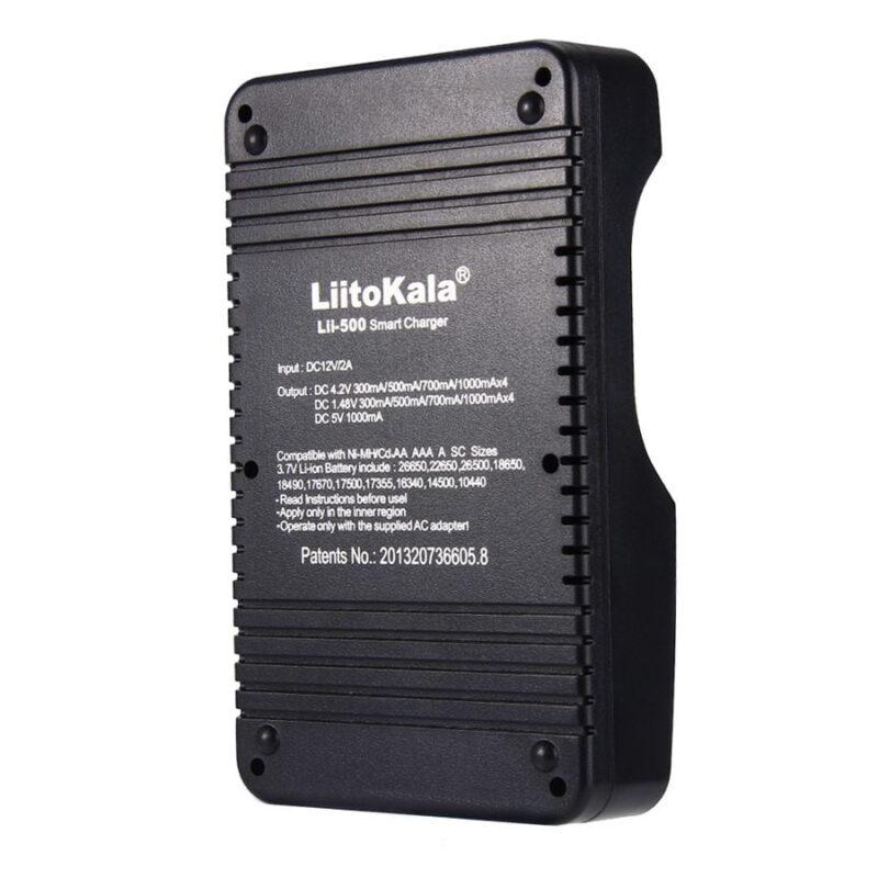 Зарядное устройство LiitoKala Lii-500 + автоадаптер