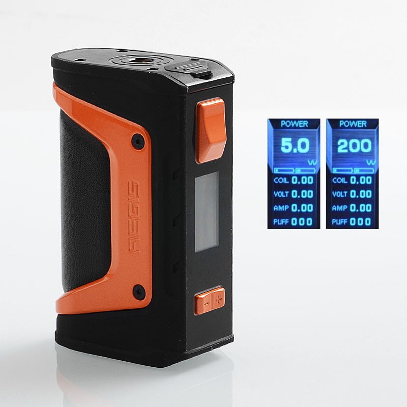 GeekVape Aegis Legend 200W Black & Orange