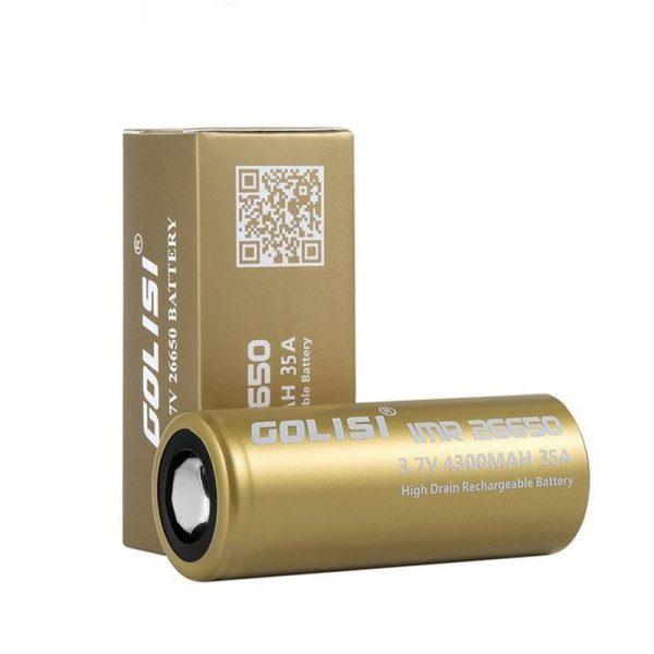 Golisi S43 26650 4300 mAh