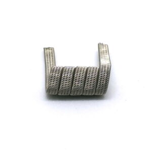 Quad Staggered Fused Clapton (SS316, Ni80)