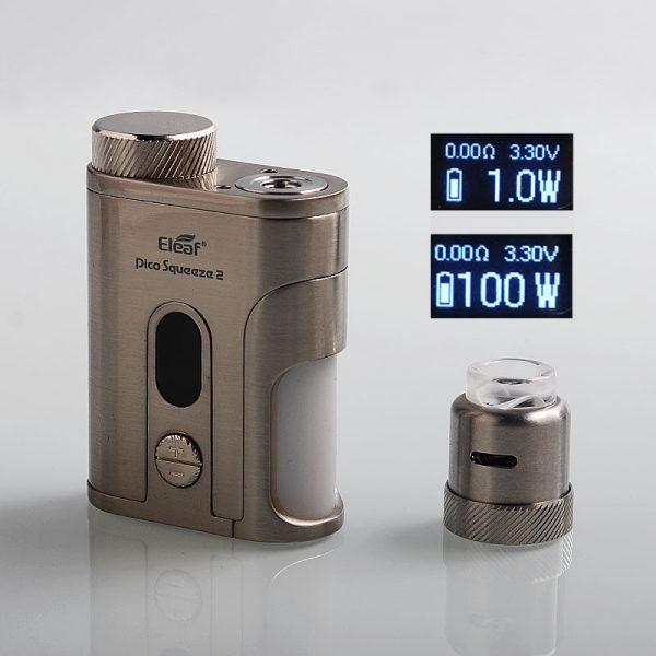 Eleaf iStick Pico Squeeze 2 100W Kit + Coral 2 RDA