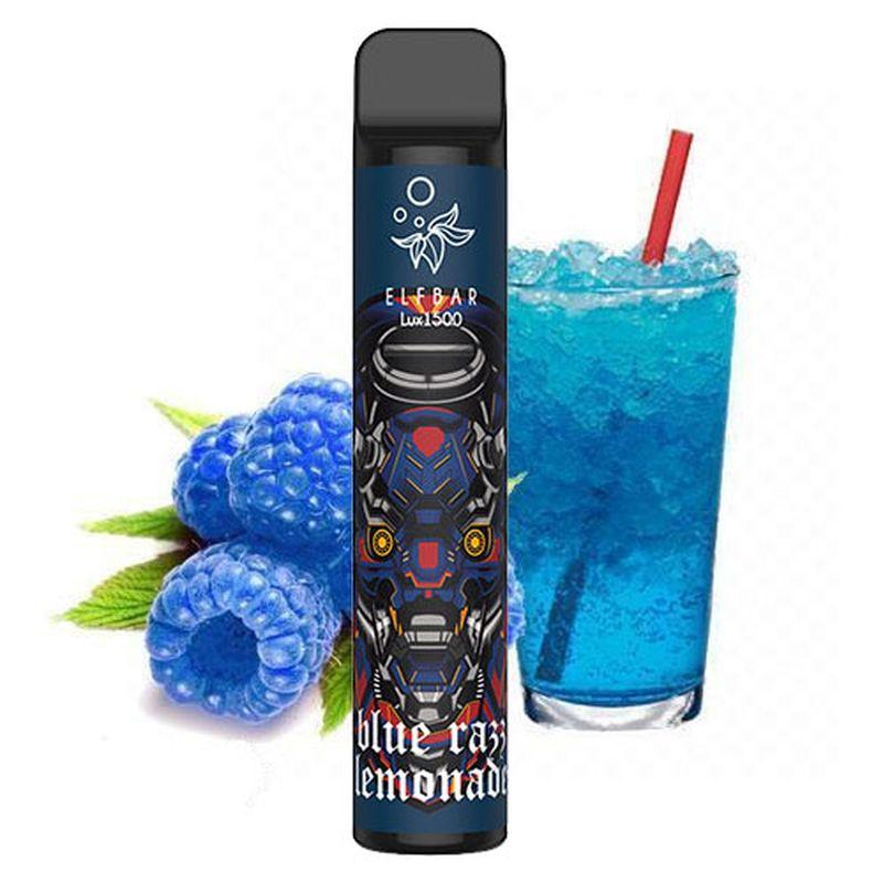 Одноразовий Pod Elf Bar Lux 1500 - Blue Razz Lemonade