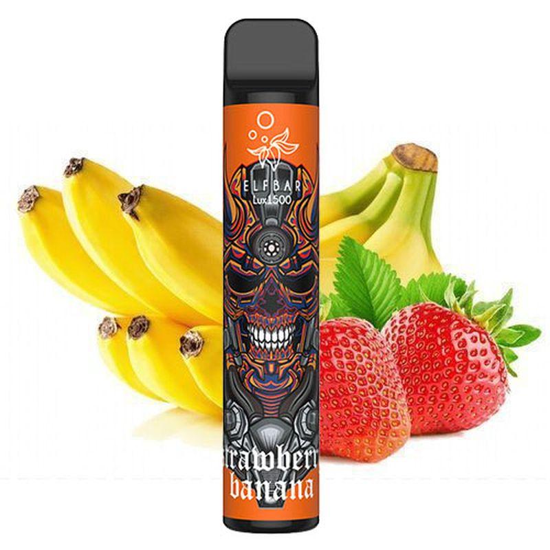 Одноразовий Pod Elf Bar Lux 1500 - Strawberry Banana
