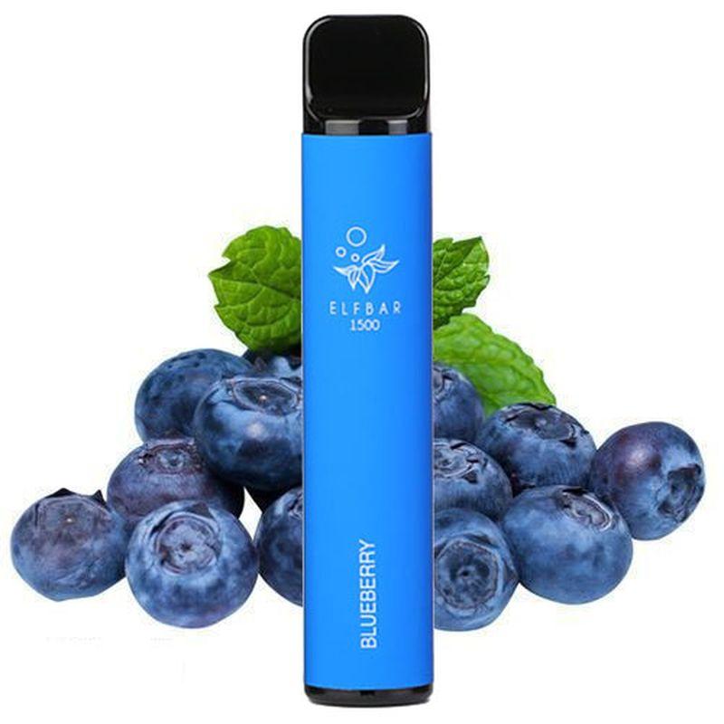 Одноразовий Pod Elf Bar 1500 - Blueberry