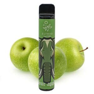 Одноразовий Pod Elf Bar Lux 1500 - Sour Apple
